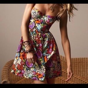 Beautiful spring floral dress